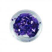 Фольга для декора сусальное золото фиолетовая 10