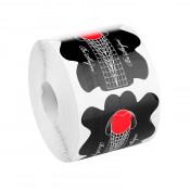 Формы для наращивания ногтей черные стилет 100 шт.