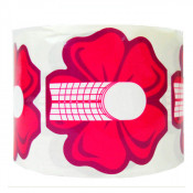 Формы розовые цветок универсальные 500 шт.