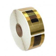Формы золотые узкие универсальные 100 шт.