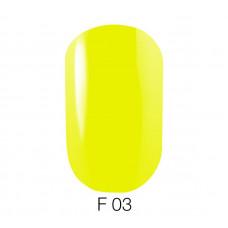Гель-лак GO Fluo 03 5,8 мл жёлтый лайм флуоресцентный