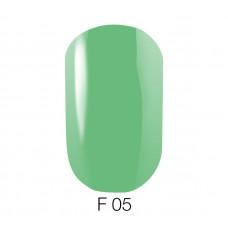 Гель-лак GO Fluo 05 5,8 мл молочно-зеленый флуоресцентный
