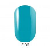 Гель-лак GO Fluo 06 5,8 мл голубой