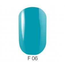 Гель-лак GO Fluo 06 5,8 мл голубой флуоресцентный