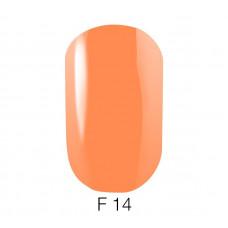 Гель-лак GO Fluo 14 5,8 мл лососевый флуоресцентный