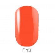 Гель-лак GO Fluo 13 5,8 мл яркий морковный