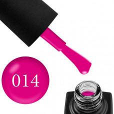 Гель-лак GO 014 5,8 мл розоватая фуксия