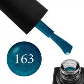 Гель-лак GO 163 5,8 мл бирюзовый ультрамарин с шиммером