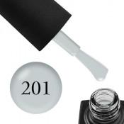 Гель-лак GO 201 5,8 мл светло-серый
