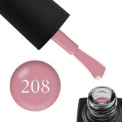 Гель-лак GO 208 5,8 мл мягкий розовый