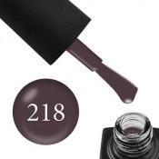 Гель-лак GO 218 5,8 мл темный лилово-серый