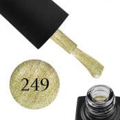 Гель-лак GO 249 5,8 мл лимонное золото, с шиммерами