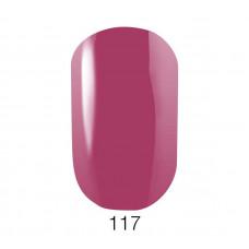 Гель-лак GO 117 5,8 мл розово-малиновый