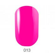 Гель-лак GO 013 5,8 мл плотный неоново-розовый