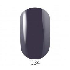 Гель-лак GO 034 5,8 мл серо-фиолетовый эмалевый