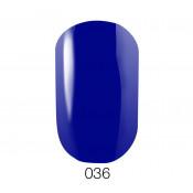 Гель-лак GO 036 5,8 мл синий с перламутром