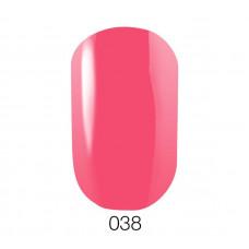 Гель-лак GO 038 5,8 мл теплый розовый эмалевый