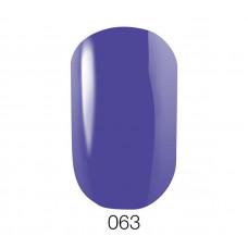 Гель-лак GO 063 5,8 мл синий