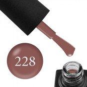 Гель-лак GO 228 5,8 мл розовый кофе