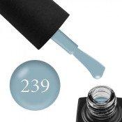 Гель-лак GO 239 5,8 мл серо-голубой