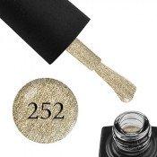 Гель-лак GO 252 5,8 мл золото, с шиммерами