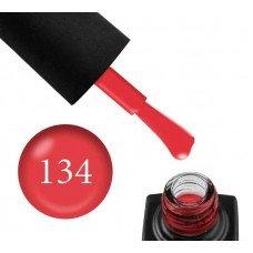 Гель-лак GO 134 5,8 мл красный, эмалевый, плотный