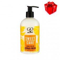 Крем для рук Go Active Citrus Fresh 350 ml в подарок