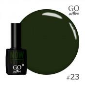 Гель-лак Go Active 023 Зеленый мирт 10 мл
