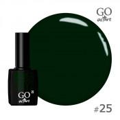 Гель-лак Go Active 025 Зеленый 10 мл