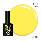 Гель-лак Go Active 030 Желтый 10 мл