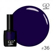 Гель-лак Go Active 036 Фиолетовый 10 мл