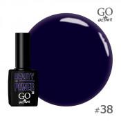 Гель-лак Go Active 038 Темно-синий 10 мл