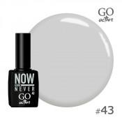 Гель-лак Go Active 043 Серый 10 мл
