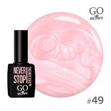 Гель-лак Go Active 049 Дымчато-розовый с перламутром 10 мл