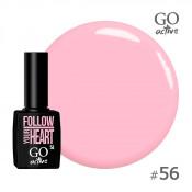 Гель-лак Go Active 056 Теплый розовый 10 мл
