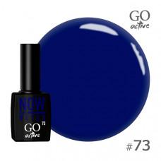 Гель-лак Go Active 073 Синий 10 мл
