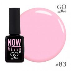 Гель-лак Go Active 083 Мягкий розовый 10 мл