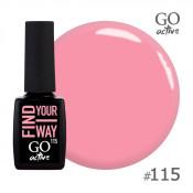 Гель-лак Go Active 115 Розовый смузи 10 мл