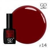 Гель-лак Go Active 014 Красный 10 мл