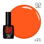Гель-лак Go Active 021 Оранжево-морковный 10 мл