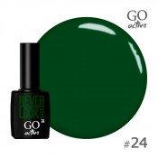 Гель-лак Go Active 024 Зеленый 10 мл