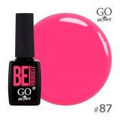 Гель-лак Go Active 087 Яркий розовый 10 мл