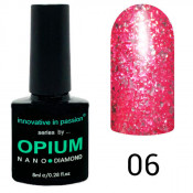 Гель-лак Innovative in Passion Opium Diamond 06 Розовый