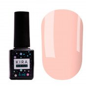 Цветная база Kira Nails Color base 001 6 мл - розовый нюд