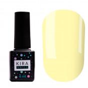 Цветная база Kira Nails Color base 004 6 мл - банановый желтый