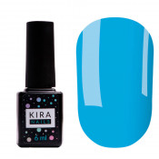 Цветная база Kira Nails Color base 008 6 мл - морская волна