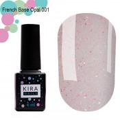 French Base Opal Kira Nails 001 (опал) 6 мл