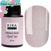 French Base Opal Kira Nails 001 (опал) 30 мл