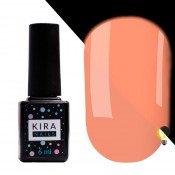 Гель-лак Kira Nails FLUO 005 розовый флуоресцентный 6 мл