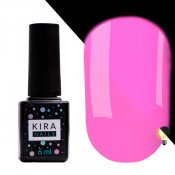 Гель-лак Kira Nails FLUO 006 сиреневый флуоресцентный 6 мл